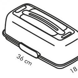 Контейнер для торта 36х18 см. с охлаждающим элементом Tescoma 2