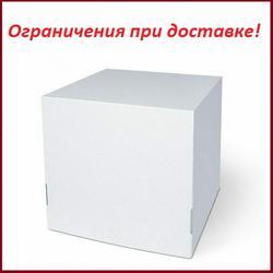Коробка для торта 32х32х35 см. Белая 1