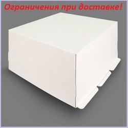 Коробка для торта 35х35х22 см. Белая 1