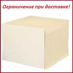 Коробка для торта 40х40х30 см. Белая 1