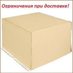 Коробка для торта 40х40х30 см. Бежевая 1