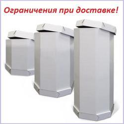 Коробка для торта 40х40х90 см. Белая 3 ч. 1