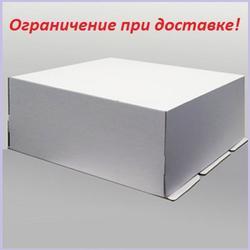 Коробка для торта 40х50х21 см. Белая 1