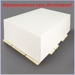 Коробка для торта 40х60х20 см. Белая 1