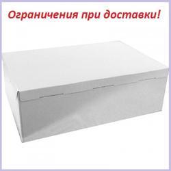 Коробка для торта 40х60х21 см. Белая 3 части 1