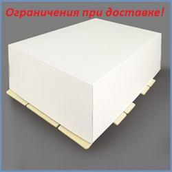 Коробка для торта 40х60х35 см. Белая 1