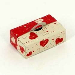 Коробочка для комплимента Сердечки 8х5х3 см. 5 шт. 1