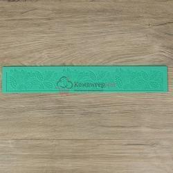 Коврик для кружев Листва 39,8х6 см. 1