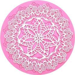 Коврик для кружев Нежный цветок 13 см. 2