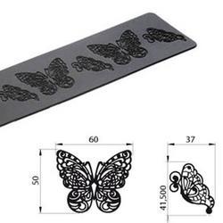 Коврик для кружев Бабочки 40х8 см. Silikomart 1