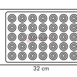 Коврик силиконовый Макаронс 35 ячеек Tescoma 4