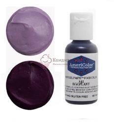 Краситель гелевый AmeriColor Баклажан Eggplant 21 г. 1