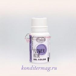 Краситель гелевый Криамо голубой цветок 10 г. 1
