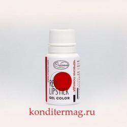 Краситель гелевый Криамо красная помада 10 г. 1