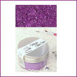 Краситель сухой блестящий плотный Пурпурный 10 г. Magic Cake Color 1