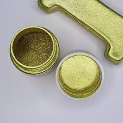 Краситель сухой блестящий плотный Золото 10 г. 1