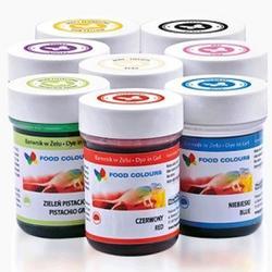 Краситель пищевой Food colours Жёлтый 35 г. WSG-001 2