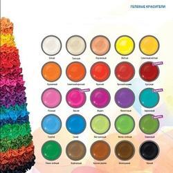 Краситель Food colours гелевый набор 8х35 г. 2