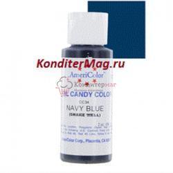 Краситель для шоколада Americolor Темно-синий Navy blue 56 г. 2