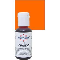 Краситель гелевый AmeriColor Апельсин Orange 21 г. 3