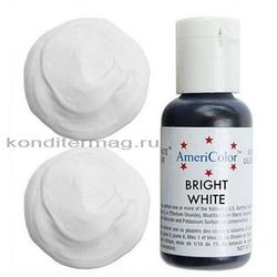 Краситель пищевой AmeriColor Белый (Bright White) 21 г. 1