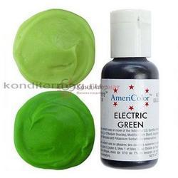 Краситель гелевый AmeriColor Зеленый электрик Electric Green 21 г. 1