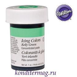 Краска гелевая Глубинно-зеленая 28 г. Вилтон 1