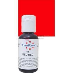Краситель гелевый AmeriColor Красный Яркий Red-Red 21 г. 3