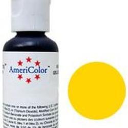 Краситель пищевой AmeriColor Лимонный желтый (Lemon Yellow) 21 г. 2