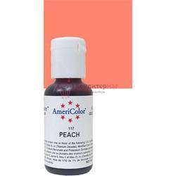 Краситель гелевый Персик Peach AmeriColor 21 г. 3