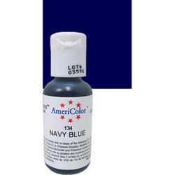 Краситель гелевый AmeriColor Темно-синий Navy Blue 21 г. 3