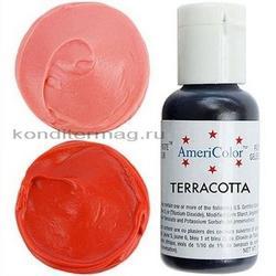 Краска гелевая Терракотовая Terracota AmeriColor 21 г. 2