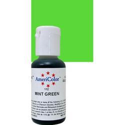 Краситель пищевой AmeriColor Зеленый мятный (Mint Green) 21 г. 3