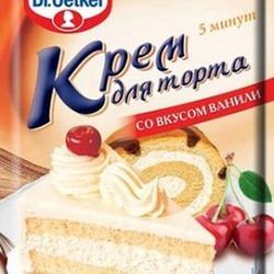 Крем для торта ванильный Dr.Oetker 50 г. 1