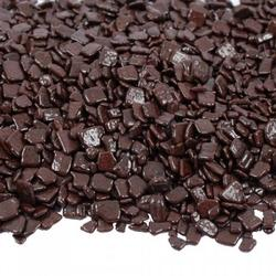 Крошка шоколадная темная глянцевая 36% 100 г. Irca 1