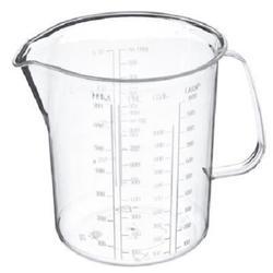 Кружка мерная 1 л. пластик 1