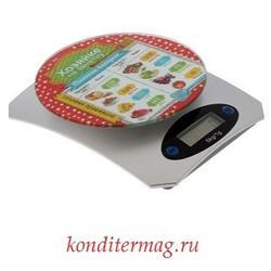 Весы кухонные электронные Хозяйке на заметку до 5 кг. 1
