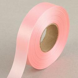Лента атласная Розовая светлая 2 см.х45 м. 1