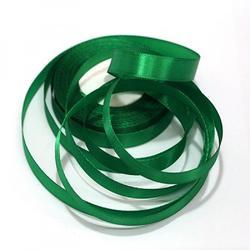 Лента атласная Зеленая яркая 2 см.х45 м. 1