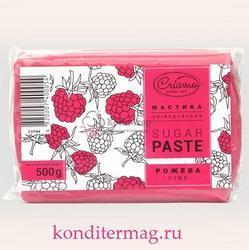 Мастика сахарная Криамо розовая 500 г. 1