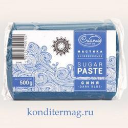 Мастика сахарная Криамо синяя 500 г. 1