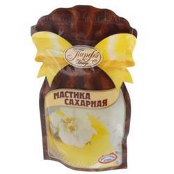 Мастика сахарная 150 г. желтая Парфэ 1