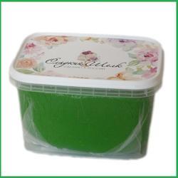 Мастика сахарная Сладкий шелк зеленая трава 500 г. 1