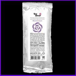 Мастика сахарная Топ Продукт Фиолетовая 100 г. 1