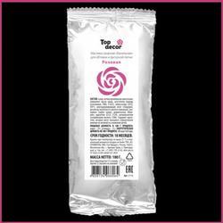 Мастика сахарная Топ Продукт Розовая 100 г. 1