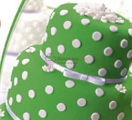 Мастика сахарная Топ Продукт зеленая 600 г. 1