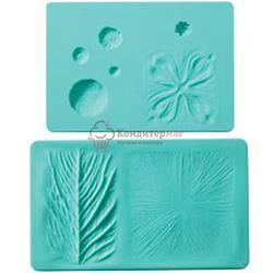 Мат для мастики для создания цветов и листьев 2 шт. Вилтон 1