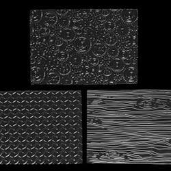 Маты текстурные Автомобилист 25х18 см, 3 шт, 1