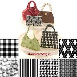 Маты текстурные Полосы Fabric 6 шт. 1