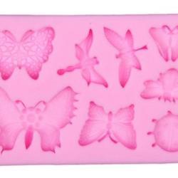 Молд силиконовый Бабочки 10х6 см. 1